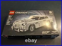 LEGO Creator 10262 James Bond 007 Aston Martin DB5 Complete New NIB Expert
