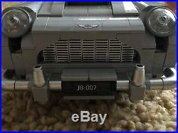 LEGO Creator Expert James Bond 007 Aston Martin DB5 Set 2019 1295 Pc 100% No Box