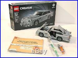 LEGO Creator James Bond Aston Martin DB5 10262 Expert- Used- Excellent condition