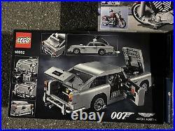 LEGO Creator Mustang GT, James Bond Aston Martin & Davidson Harley $400 Value