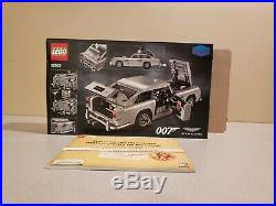 LEGO James Bond Aston Martin (10262)- 100% Complete withbox and manual