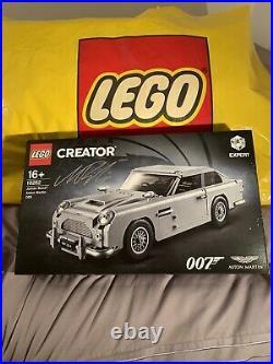 LEGO James Bond Aston Martin DB5 10262 + Signed by designer + Original 007 Bag