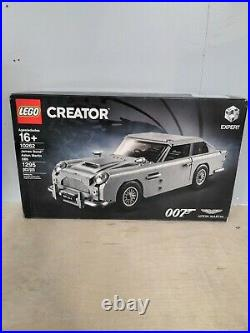 Lego Creator James Bond 007 Aston Martin DB5 10262 1295 Pcs NEW Sealed