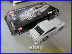 Lego Creator James Bond Aston Martin DB5 (10262) Fully Assembled