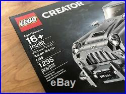 Lego Creator James Bond Aston Martin DB5 Set