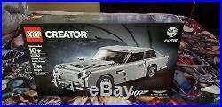 Lego Creator James Bond Aston Martin DB5 Set, New + Collector's Card