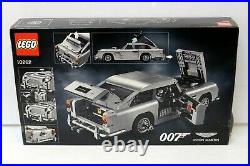Lego James Bond 007 Aston Martin DB5 10262 Creator 1295 Pcs New Sealed