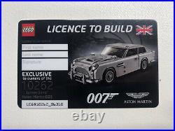 Lego James Bond Aston Martin 10262 New In Box Factory Sealed RARE LICENCE
