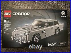 NEW LEGO UNOPENED JAMES BOND 007 ASTON MARTIN DB5 #10262 Creator Expert NIB