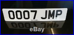 Ooo7 Jmp James Bond 007 Aston Martin Cherished Number Plate-superb -on Retention