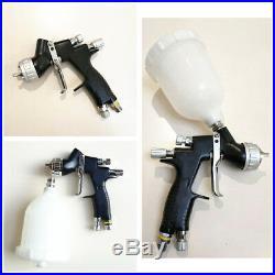 Professional HVLP Paint Air Spray Gun Kit Gravity Feed Paint Gun 1.3mm Nozzle