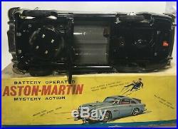 RARE 60's VINTAGE ASC AOSHIN GILBERT JAPAN TIN 007 JAMES BOND ASTON MARTIN N MIB