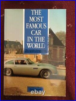 RARE SIGNED The Most Famous Car In The World, HB James Bond Aston Martin DB5