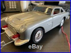 Rare Daiya/Bandai M101 James Bond Aston Martin DB5 secret ejector car Works