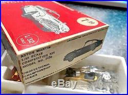 Rare Vintage Strombecker Aston Martin James Bond 007 Slot Car Boxed