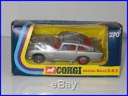 (S) corgi JAMES BOND 007 ASTON MARTIN DB5 270 sealed envelope