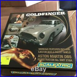 SCALEXTRIC JAMES BOND GOLD FINGER LIMITED EDITION ASTON MARTIN DBR REF C3091a