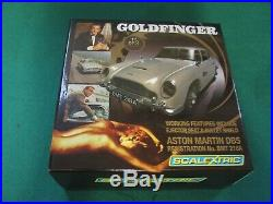 Scalextric C3091a Godlfinger James Bond 007 Aston Martin Db5 Ltd Ed Mint Boxed