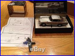Scalextric James Bond Aston Martin DB5 With Ejector Seat Ltd Edition GOLDFINGER