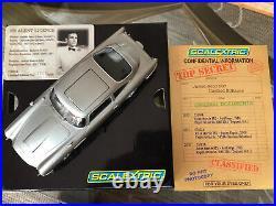 Scalextric James Bond Goldfinger Aston Martin With Gadgets Ltd Edt
