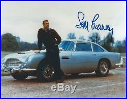 Sean Connery Signed 007 James Bond Aston Martin Db5 Photo Uacc Rd Autograph