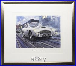 Steve MASSEY / Most Famous Car in the World the James Bond Aston Martin Signed