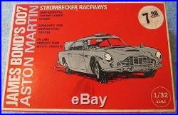 Strombecker Aston Martin James Bond 007 Slot Car with Box