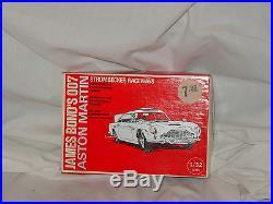 Strombecker Aston Martin James Bond 007 Slot Car with Box MINT NEVER USED