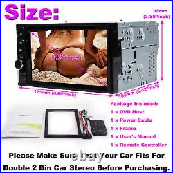 TOUCHSCREEN Bluetooth CD DVD USB Radio Stereo Double Din Dash Kit FOR FORD F-150