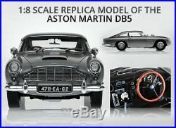 UNBUILT James Bond 007 Aston Martin DB5 18 Scale EAGLEMOSS KIT complete 86 mags