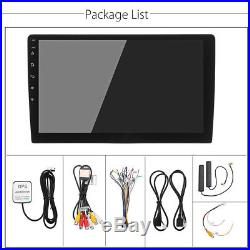 Ultra thin 2Din Android 6.0 10.1Car Stereo Radio 4G WIFI GPS BT DAB Mirror Link