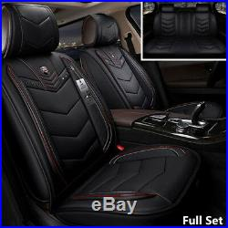 Universal 6D PU Leather 5 Seats Full Set Auto Car Seat Cover Cushion Car-Styling