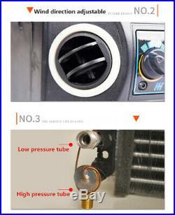 Universal Car A/C KIT Underdash Evaporator Compressor Air Conditioner 3 Speed US