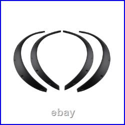 Universal Car Autos Fender Wheel Arches Flare extension flares wide 4 arches set