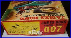 Vintage 1965 Airfix James Bond 007 Aston Martin Db5 Part Built