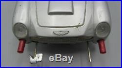 Vintage 1965 Gilbert James Bond 007 Aston Martin DB5 Tin Car Toy / Japan Read