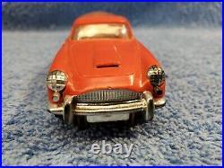 Vintage A. C. Gilbert O-gauge Slot Car James Bond 007 Aston Martin