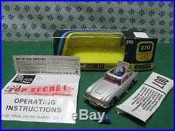Vintage ASTON MARTIN DB5 007 J. Bond Corgi Toys 270 MIB