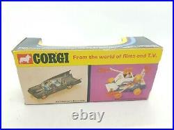 Vintage CORGI 270 JAMES BOND 007 SILVER ASTON MARTIN DB5 1973 mettoy near mint