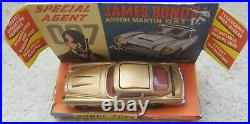 Vintage Corgi 261 James Bond Aston Martin Db5 007 In Original Box Issued 1965