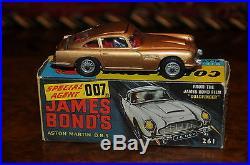 Vintage Corgi Aston Martin / MIB / James Bond Agent 007 / Bin # 4
