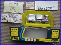 Vintage Corgi James Bond 007 Aston Martin DB5 96655. BNIB. Mint. Ultra Rare
