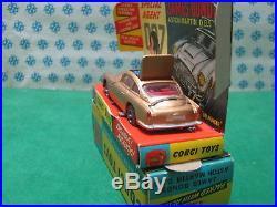 Vintage Corgi Toys 261 ASTON MARTIN DB5 007 James Bond's Goldfinger