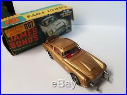 Vintage Corgi Toys 261 James Bond 007 Aston Martin Db5 From Film Boxed