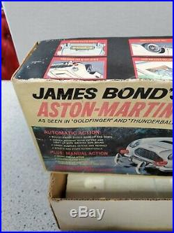 Vintage Gilbert James Bond Aston Martin Db5 Works With Issues Please Read