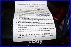 Vintage Gilbert Tin B/o James Bond 007 Aston Martin Db5 With Box. Works Great