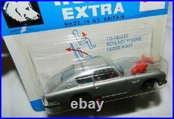 Vintage Husky James Bond 007 Aston Martin elector seat Car 1201, Mint in Package