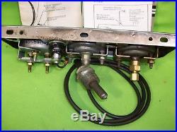 Vintage STEWART WARNER Gauge Set Rat Rod Gasser SCTA Mopar Ford GM