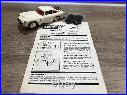 Vintage Scalextric Original 1960s 007 James Bond C97 Aston Martin & Instructions