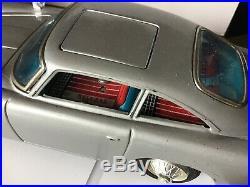 Vintage Tinplate James Bond Db5 Aston Martin Rare Battery Operated